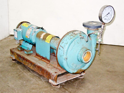 PACO Centrifugal Pump LF Frame Mounted End Suction 3-HP 100 GPM 3-Phase (20953)