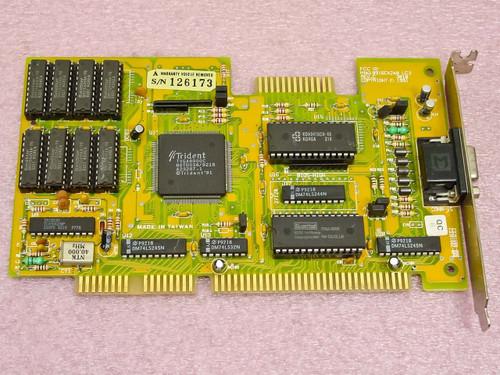 Trident ISA EGA/VGA Video Card (8916CX2/4/8 LC2 Rev C)