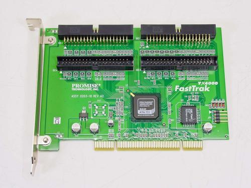 Promise Fasttrak Storage controller (RAID)- ATA-133- 133 MBps 0203-10 (TX4000)