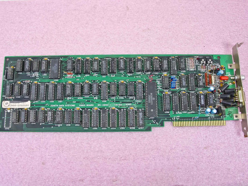Zenith 85-2892-1  8 Bit ISA Video Board 081183 Vintage 1983 85-2892-1