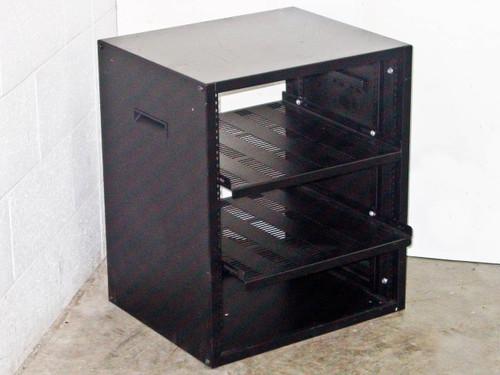 """Rackmount 19"""" Chassis w/ 2 Adjustable shelves (12U)"""