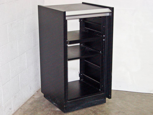 "Rackmount 19"" Chassis with Sliding Shelf and Stationary Shelf (20U)"