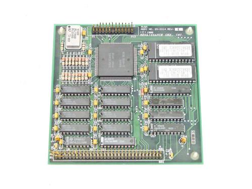 Renaissance GRX, Inc Controller Card Vintage 2989 PCB 30-0014 REV B