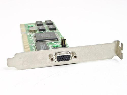 Trident Micro Vga 16bit Isa Trident Tvga9000i-1 1MB Video Card (JA-8237G/V1)