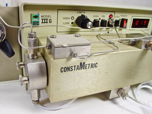 Laboratory Data Control LDC ConstaMetric Laboratory Solvent Delivery Pump Model