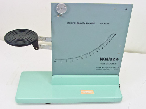 Wallace Specific Gravity Balance (X13)