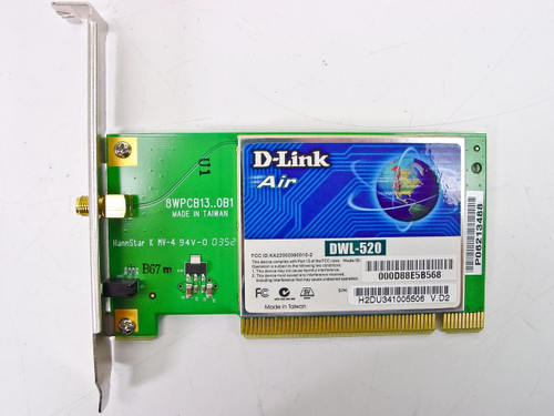 D-Link Wireless 802.11b PCI Adapter (DWL-520)