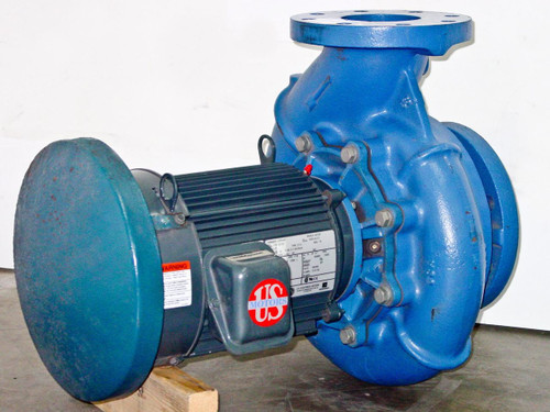 Kirst Pump I4995 Centrifugal Displacement Pump with 5 HP Motor 208V 5HP