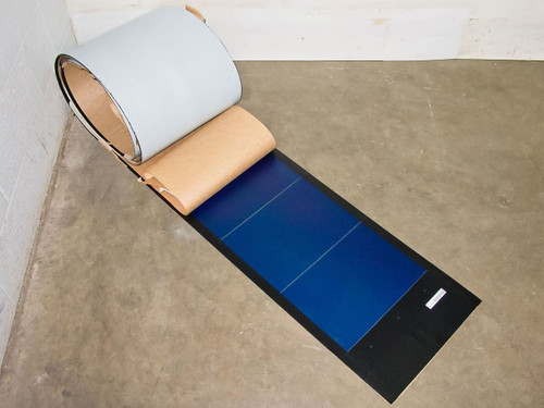 Uni-Solar PVL-136 Flexible Amorphous Solar Panel 24 Volt 136 Watt Solder Point