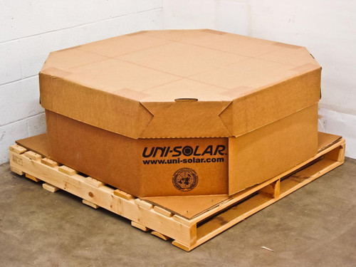 Uni-Solar ePVL-128 3,840 Watt Carton of 30 Brand New PowerBond Solar Panels