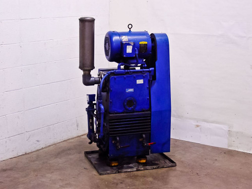 Tuthill Vacuum Systems KTC112 Kinney High Vacuum Pump 7.5 HP Motor 107 CFM