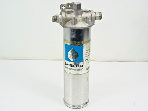 Shelco Filters MS10 MicroGuardian Filter Cartridge Housing 250 PSI 316 Stainless