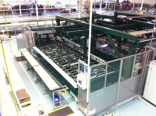Yamashita Denso Automated Solar Simulator IV and Resistance Hi-Pot Test Line