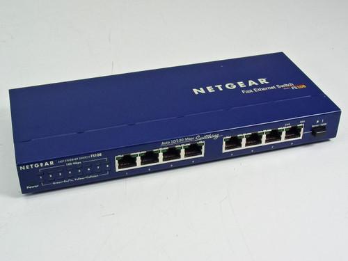 NetGear Fast Ethernet Switch (FS-108)