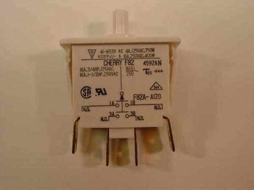 Cherry SPST Line Interrupt Switch - Jolt F82A-A120