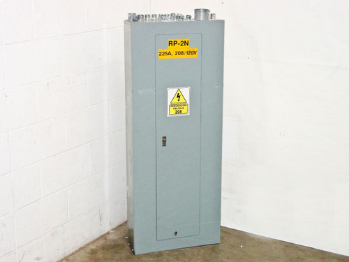Square D 225 Amp Main Electrical Panel - Type 1 Enclosure 80045-104-01