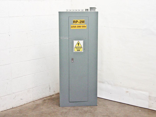 Square D 225 Amp MCB 208Y 120 VAC 3 Phase 4 Wire Panelboard (NQOD)