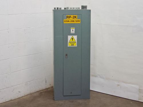 Square D 225 Amp MCB 208Y 120 VAC 3Ph 4W 42 Circut Panelboard (NQOD)