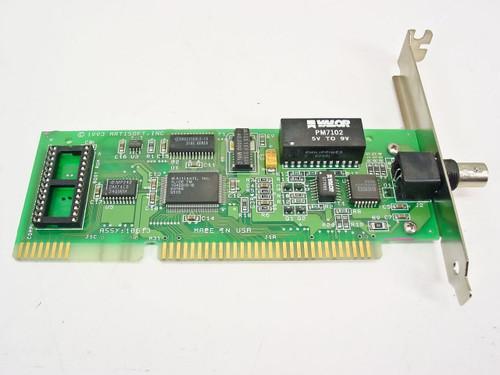 Artisoft Orbit 2L 16 Bit Coax Network Card 10614 Rev B (PCB 2000/C)