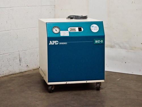 APD Cryogenics HC-2D Helium Compressor Water Cooled 208-230/200 VAC 256639E18G