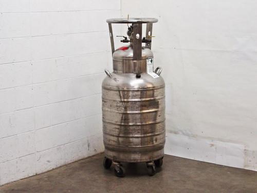 MVE Cryogenics Ultra Liquid Stainless Steel Helium Dewar - 60 liter (60L)