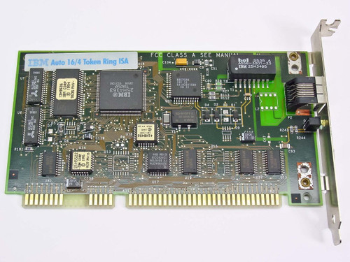 IBM 16 Bit ISA Token Ring Adapter ISA 16/4 (41H8462)