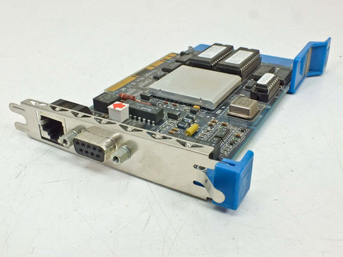 IBM 9 Pin PCI Madge 16/4 MC Card 154-301-03 & 154-301-04 Straight Blue