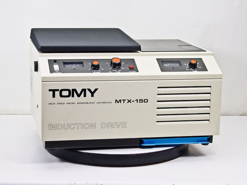 Tomy Seiko Co MTX-150 15,000 RPM High Speed Refrigerated Micro Centrifuge TMA-11 Rotor