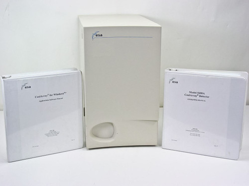 ESA Coul Array Organizer with Manuals 5600A