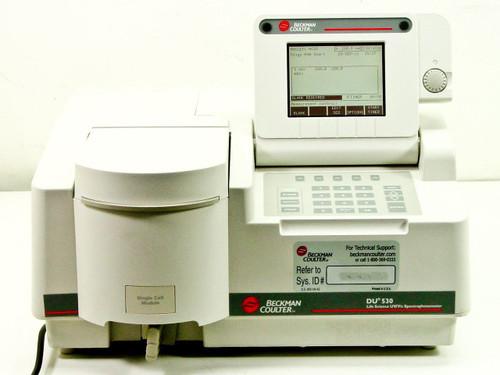 Beckman Coulter DU530 UV/Vis 517601 Life Science Spectrophotometer