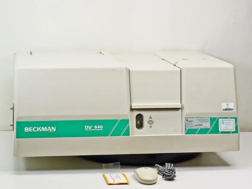 Beckman Coulter Spectrophotometer (cart not included) (DU-640)