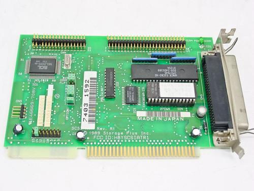 Storage Plus Inc. 16 Bit ISA Card E466669-708 PWB No. N5006003B 1989