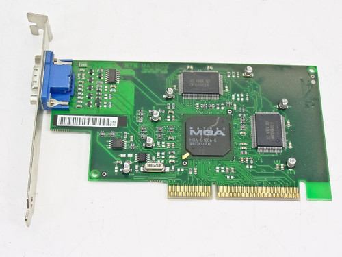 Compaq AGP Video Graphics Card 790-01 Rev.A Matrox G/100A/4/CPC (328011-001)