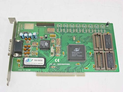 Advance Logic PCI Video Card 15 Pin ALG2302.A (71-2230262)