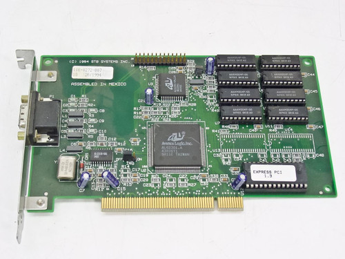STB Systems PCI Video Card 15 Pin 210-0141-002 1X0-0272-007