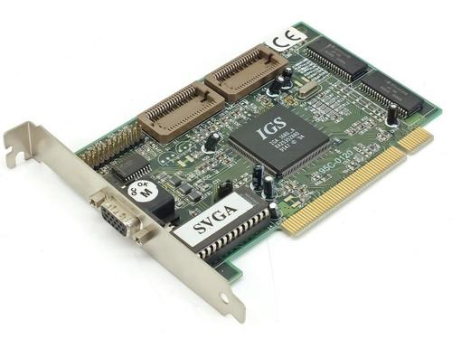 IGS PCI Video Card 15 Pin 95C-0120 IGA1680D