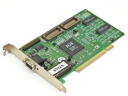 IGS PCI Video Card 15 Pin IGA1682_A
