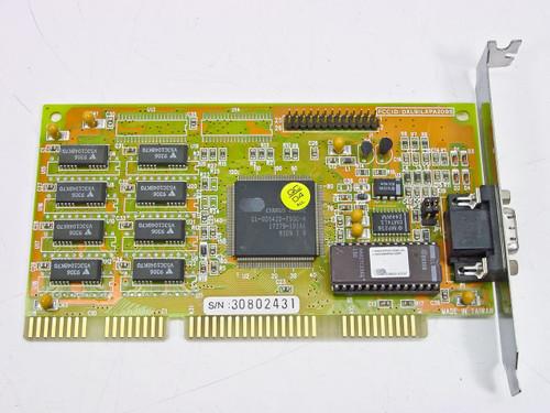 WDC 16 Bit ISA Video Card (59-XP 6658A-59A1)