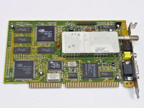 Aztech Multimedia Tv-500 ISA I38-mmvn705 VGA Tuner Card (50-009415-40-3)