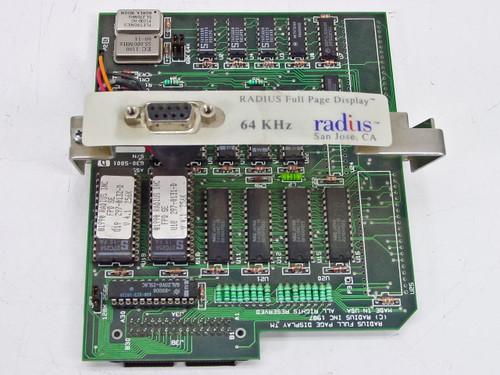 Radius Full Page Display 64KHz Mac Classic/SE/Plus /w brackets Vintage 1987