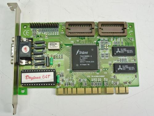 Trident PCI 2 Mb Video Card TGUI9680 (P519)
