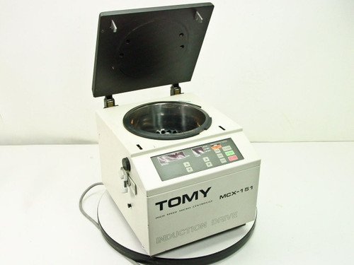 Tomy High Speed 15000 RPM Benchtop Micro Centrifuge TMA-11 18-Slot Rotor
