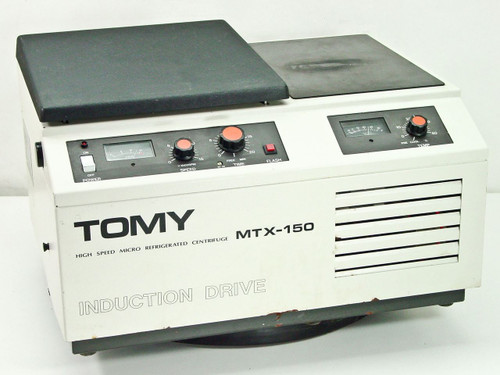 Tomy Seiko 15,000 RPM High Speed Micro Refrigerated Centrifuge (MTX-150)