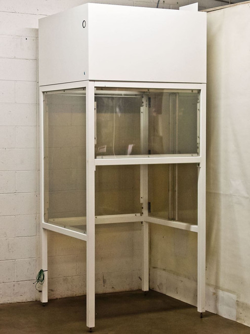 "SCE Cleanroom ION Systems Vertical Laminar Flow Hood Enclosure w/o Motor 101"" x"