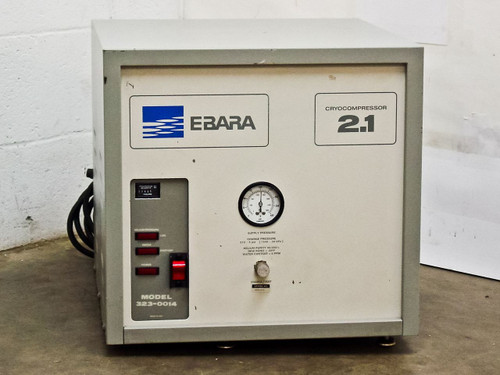Ebara Cryocompressor 2.1 Water Cooled (323-0014)