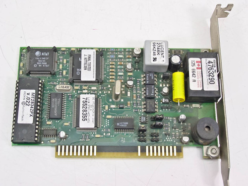 Multitech 8 Bit ISA V.33.6k Data/fax Modem (MT2834ZPX)