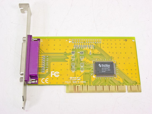 NetMos Technology PCI 1 Port ECP/EPP Card with NetMos Chipset 9805CV (E119801)