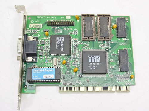 Diamond PCI Video Card 15 Pin 1995 (Stealth 64 2001)