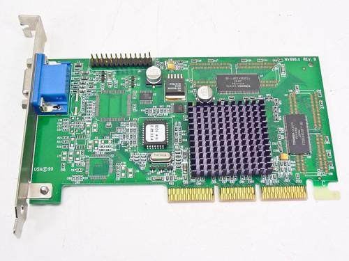 VisionTek  32MB AGP Video Card USA 1999 NV996.0 Rev B
