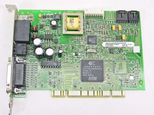 Smart Modular Technologies PCI Combo Sound Card & Modem 5184-9924 (90079)